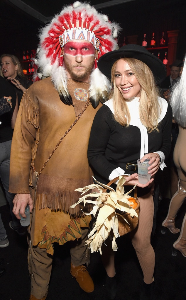 Hilary Duff, Jason Walsh, Halloween