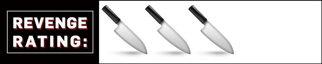 Revenge Rating 3 Knives