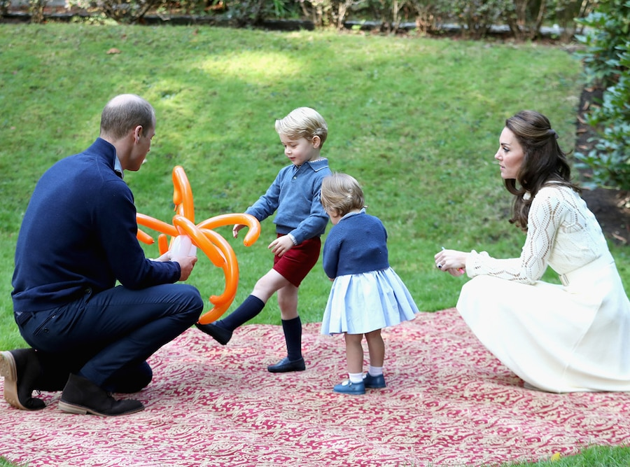 Prince William, Prince George, Princess Charlotte, Kate Middleton, Canada