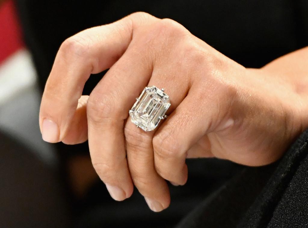 Kim Kardashian West New Ring