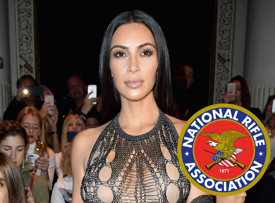 Kim Kardashian, NRA