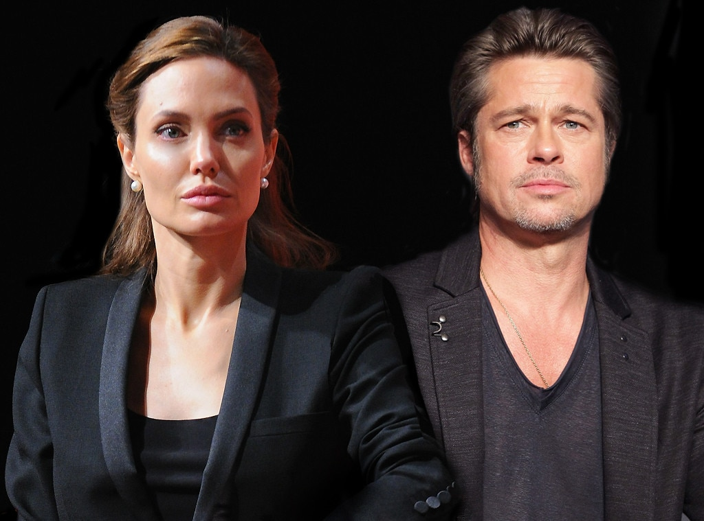 Anjelina Jolie wins ba... Brad Pitt And Angelina Jolie