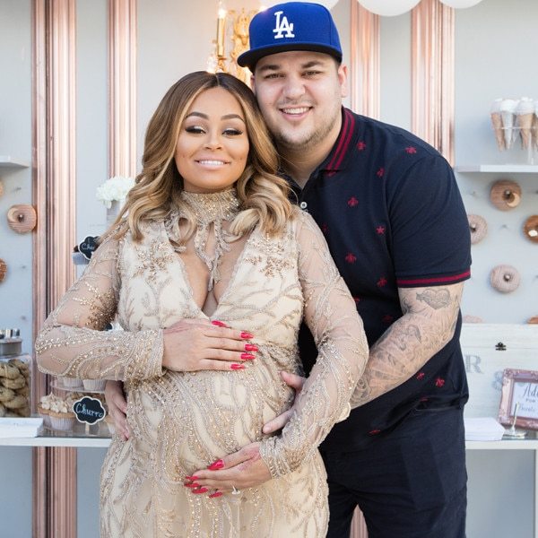 Rob Kardashian And Blac Chyna Celebrate Their Upcoming Child With Co Ed Baby  Showeru2014Get The Exclusive Details | E! News