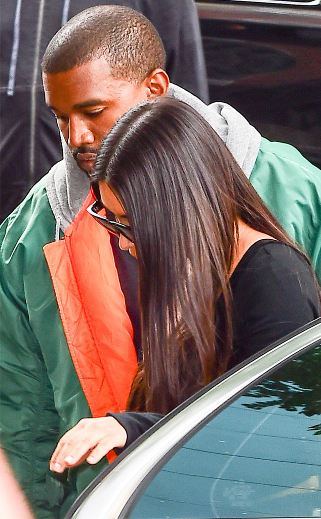 Kim Kardashian, Kanye West, Back to NYC after robbery