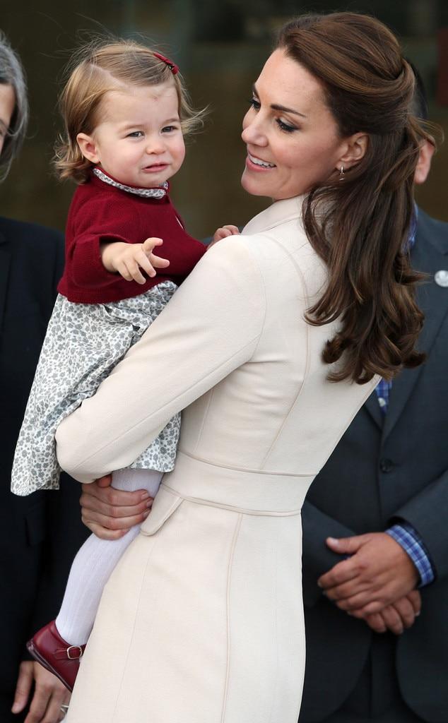 Princess Charlotte, Kate Middleton, Canada