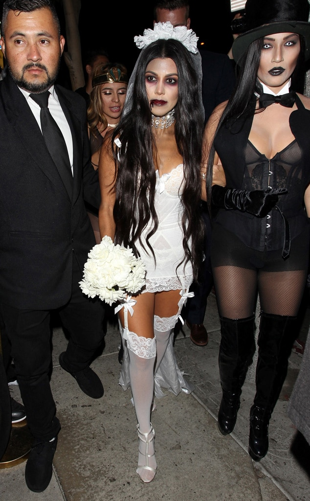 Kourtney Kardashian, Halloween