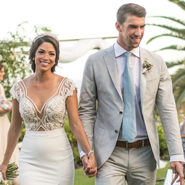Nicole Phelps, Michael Phelps, Wedding