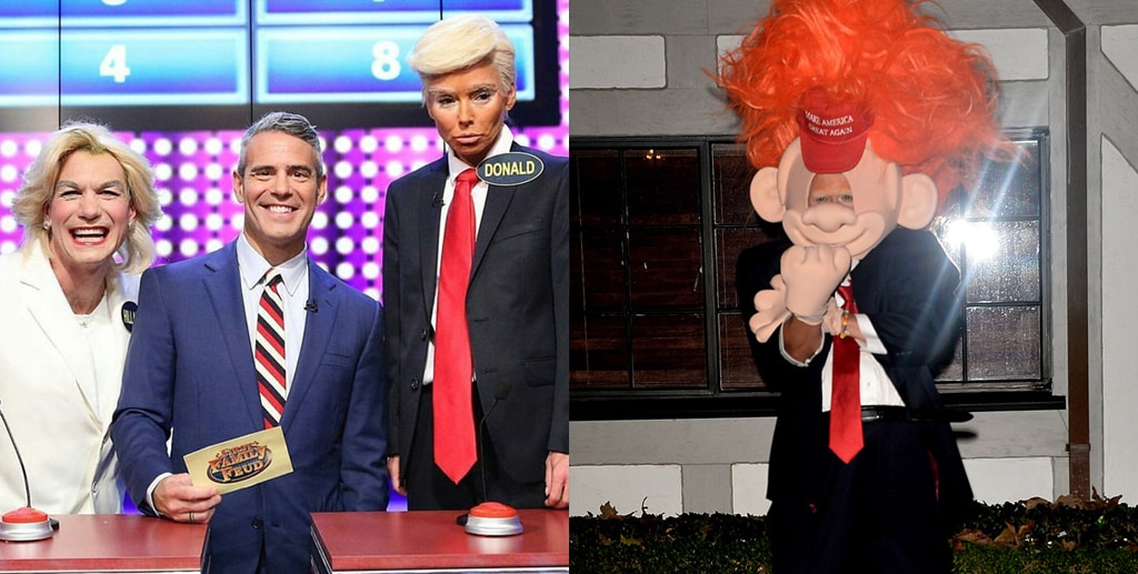 Orlando Bloom, Halloween, Kelly Ripa, Donald Trump