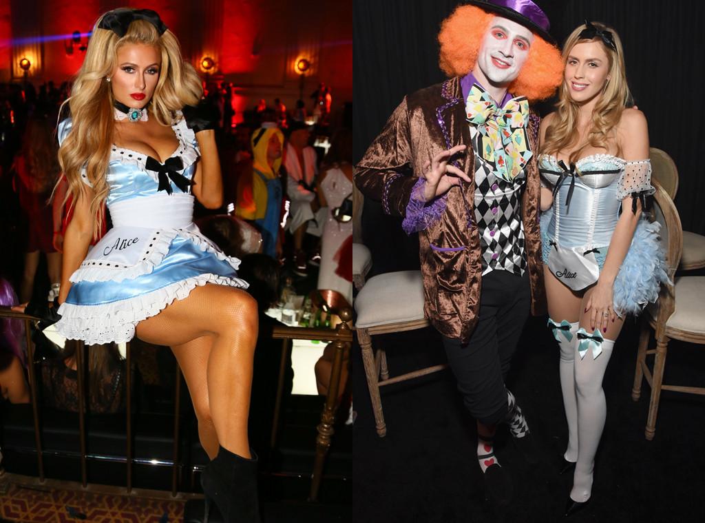 Paris Hilton, Halloween, Kayla Rae Reid, Alice in Wonderland