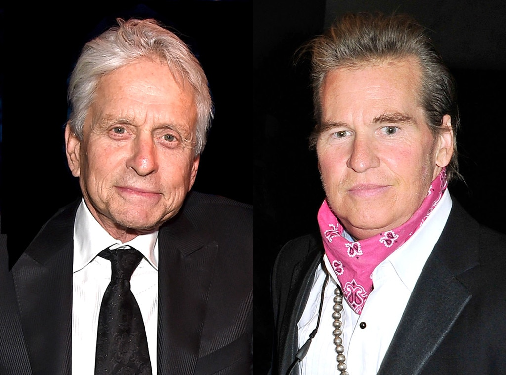 michael douglas says val kilmer has cancer  reports