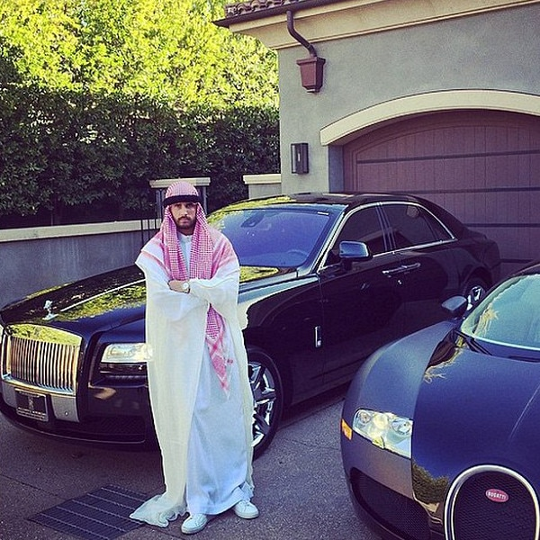 Scott Disick, Controversial Halloween Costumes