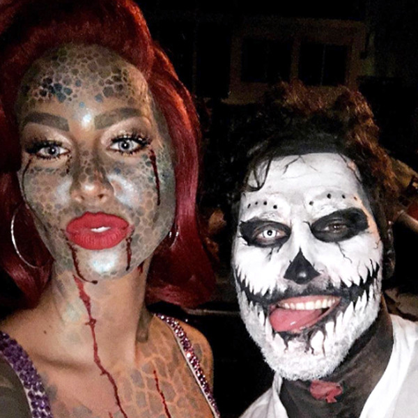 Amber Rose, Val Chmerkovskiy, Halloween, Instagram