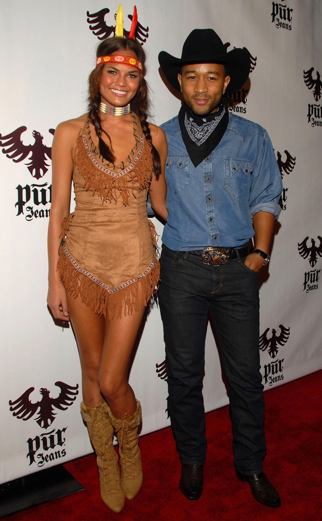 Chrissy Teigen, John Legend, Controversial Halloween Costumes
