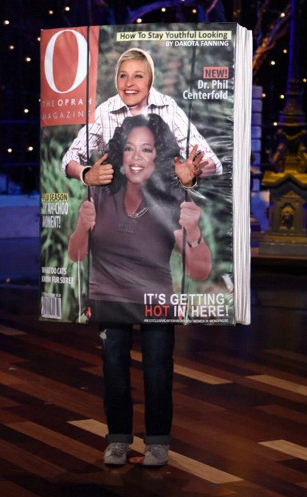 O Magazine from Ellen DeGeneres' Halloween Costumes Through the ...