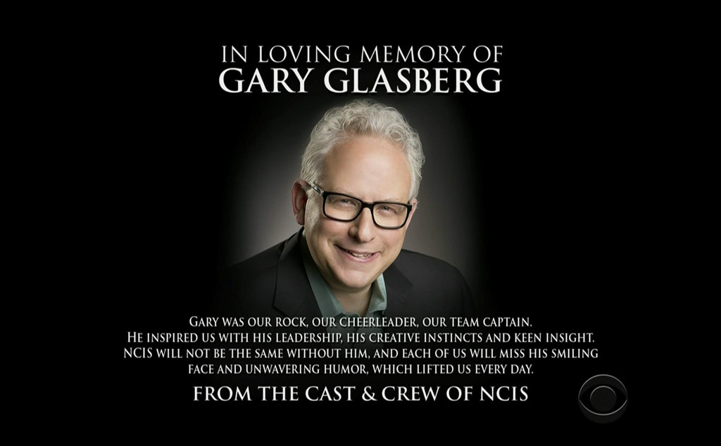 Gary Glasberg, NCIS tribute