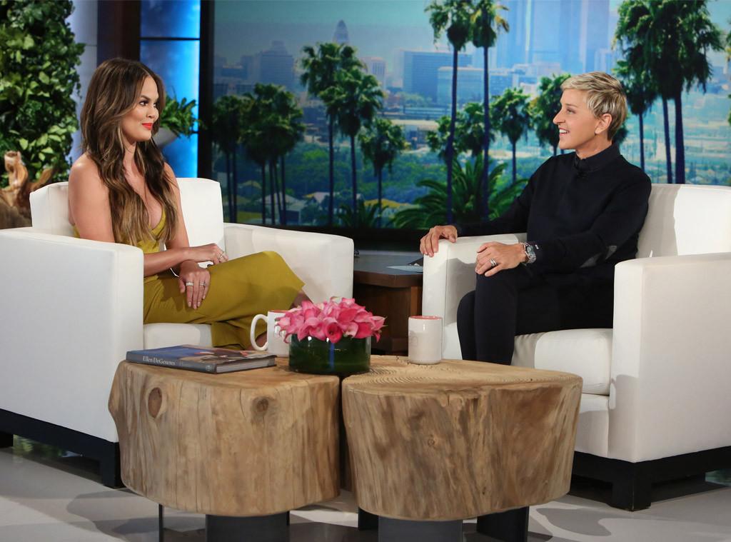Chrissy Teigen, Ellen DeGeneres