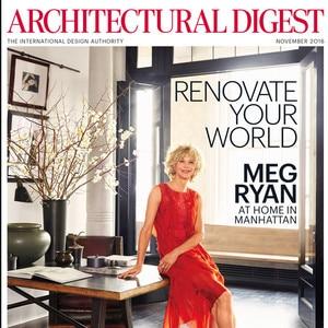 Meg Ryan, Architectural Digest