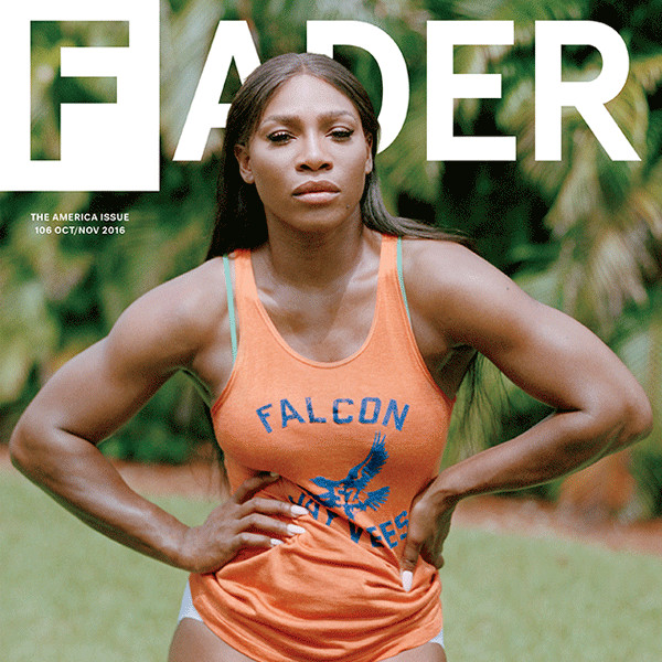 Serena Williams, Fader