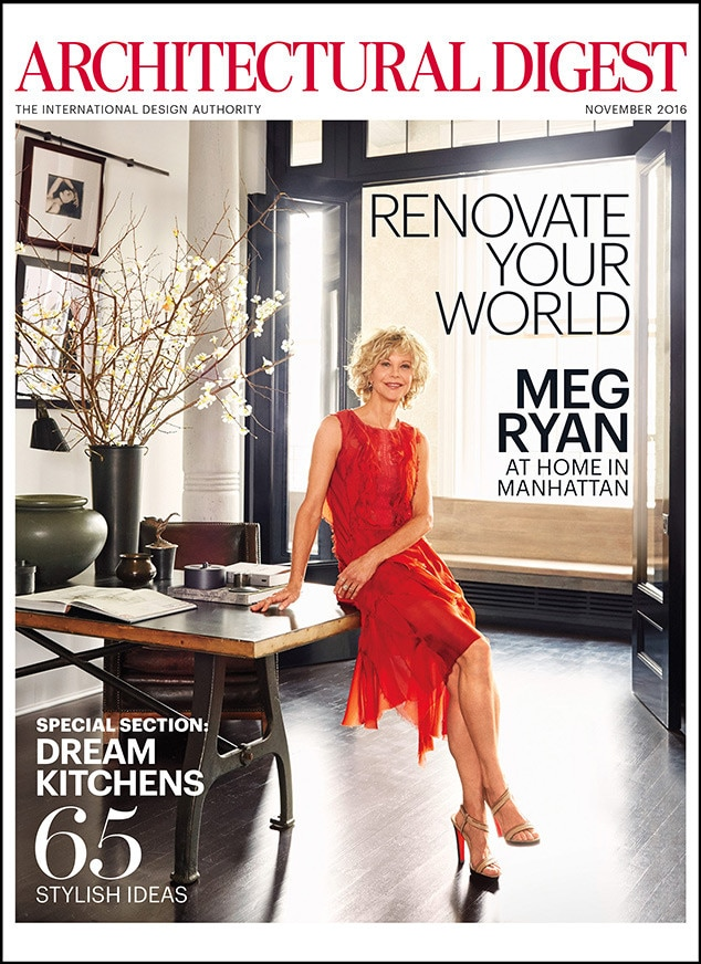 Meg Ryan, Architectural Digest