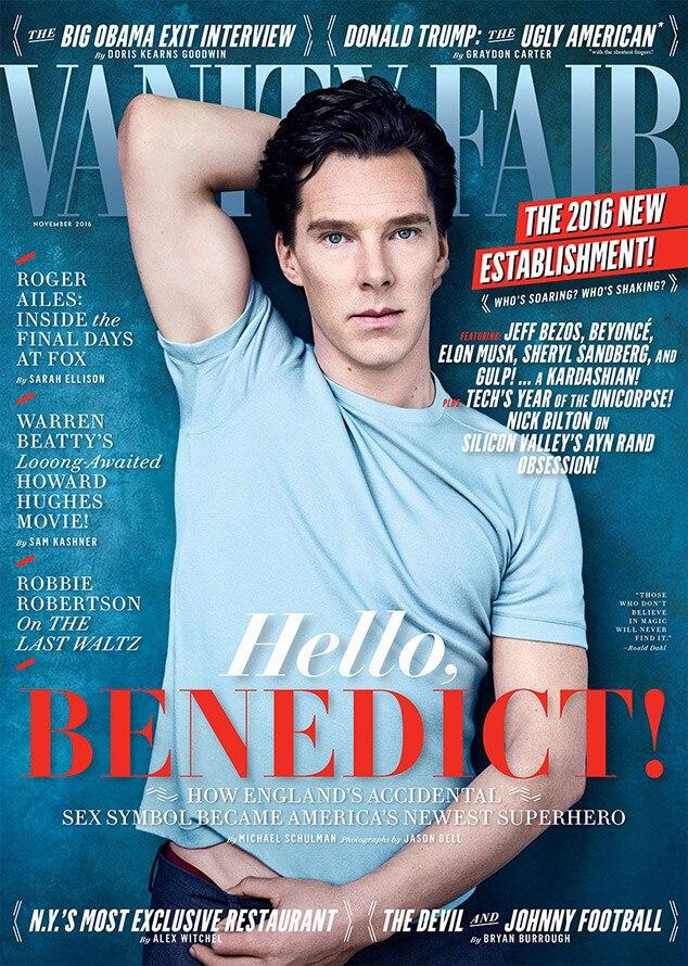 Benedict Cumberbatch, Vanity Fair