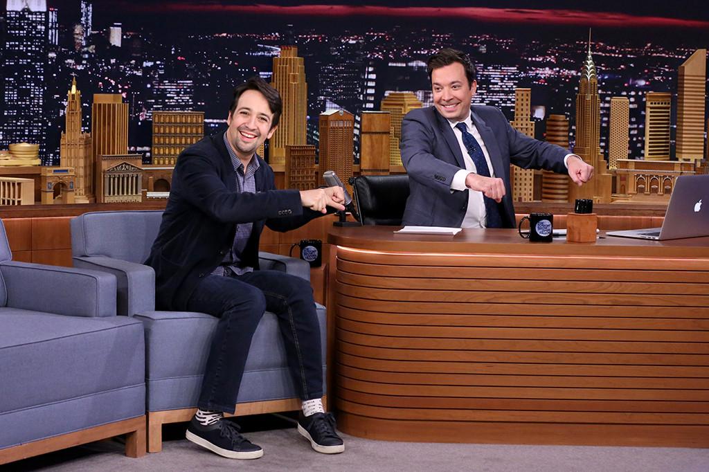 Jimmy Fallon, Lin-Manuel Miranda, The Tonight Show