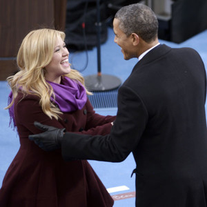 Kelly Clarkson, Barack Obama
