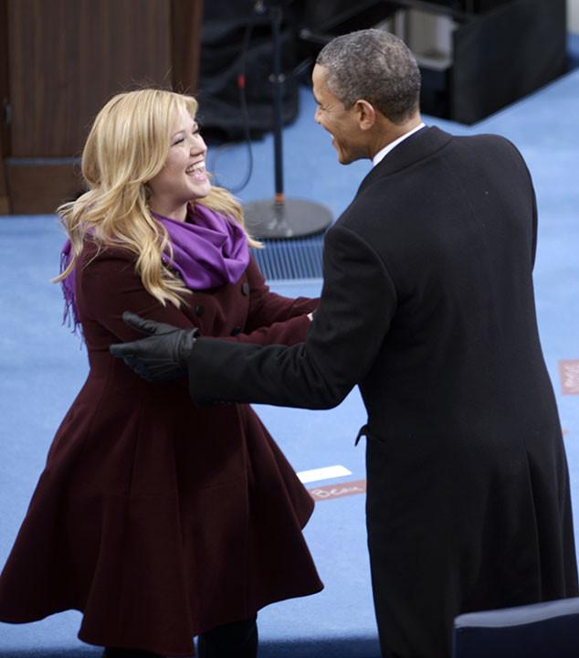 Kelly Clarkson, Barack Obama