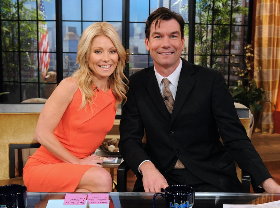 Kelly Ripa, Jerry OConnell, Live with Kelly