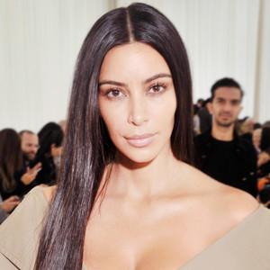 ESC: Kim Kardashian, Makeup Free