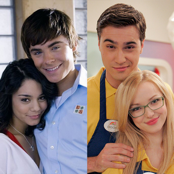 Dove Cameron, Ryan McCartan, Zac Efron, Vanessa Hudgens, Disney Couples