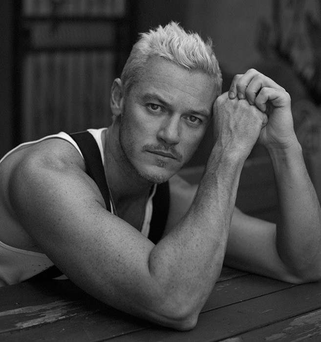 Luke Evans, Interview