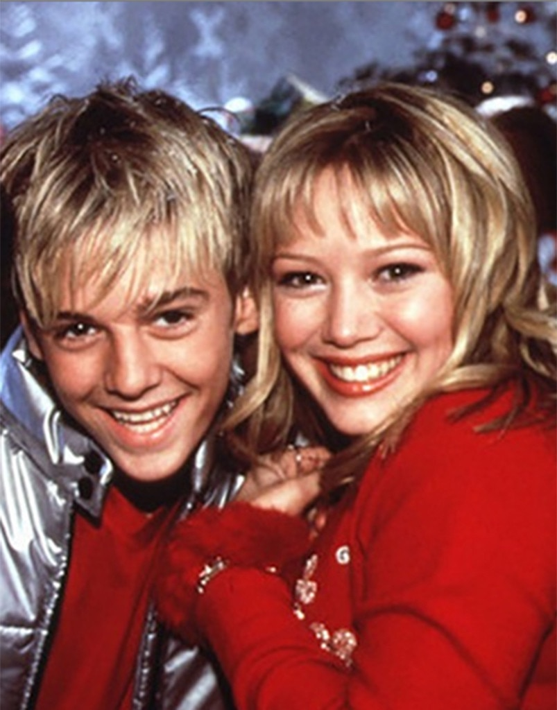 Aaron Carter, Hilary Duff, Disney Couples