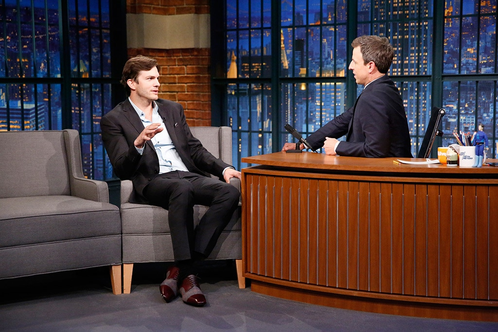 Ashton Kutcher, Late Night