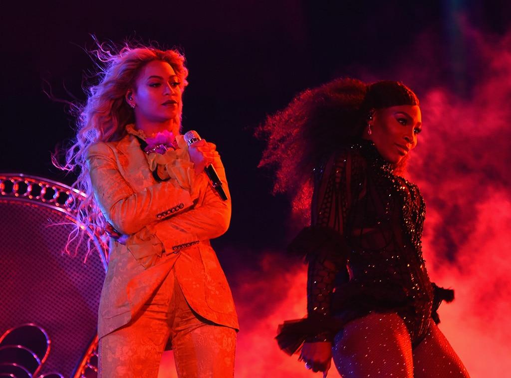 Beyonce, Serena Williams