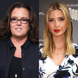 Ivanka Trump, Rosie O'Donnell