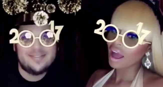 Rob Kardashian, Blac Chyna, New Year's Eve 2016