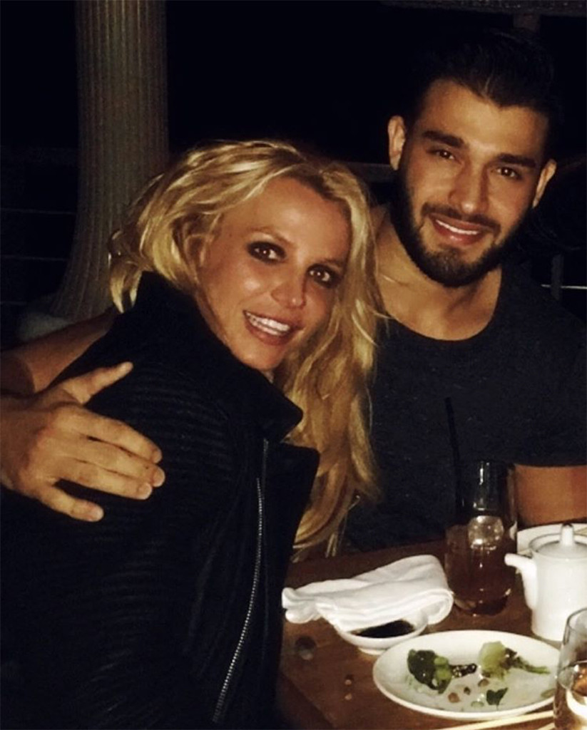 Britney Spears, Sam Ashgari