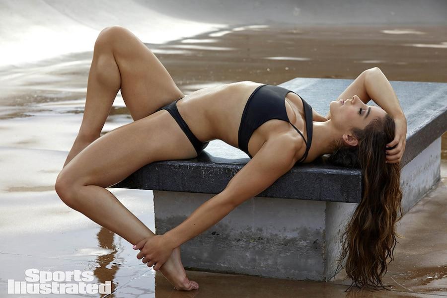 Aly Raisman, Sports Illustrated Swimsuit Edition 2017