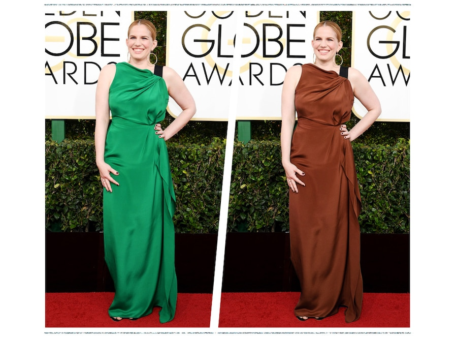ESC: Golden Globe Color Swap, Anna Chlumsky