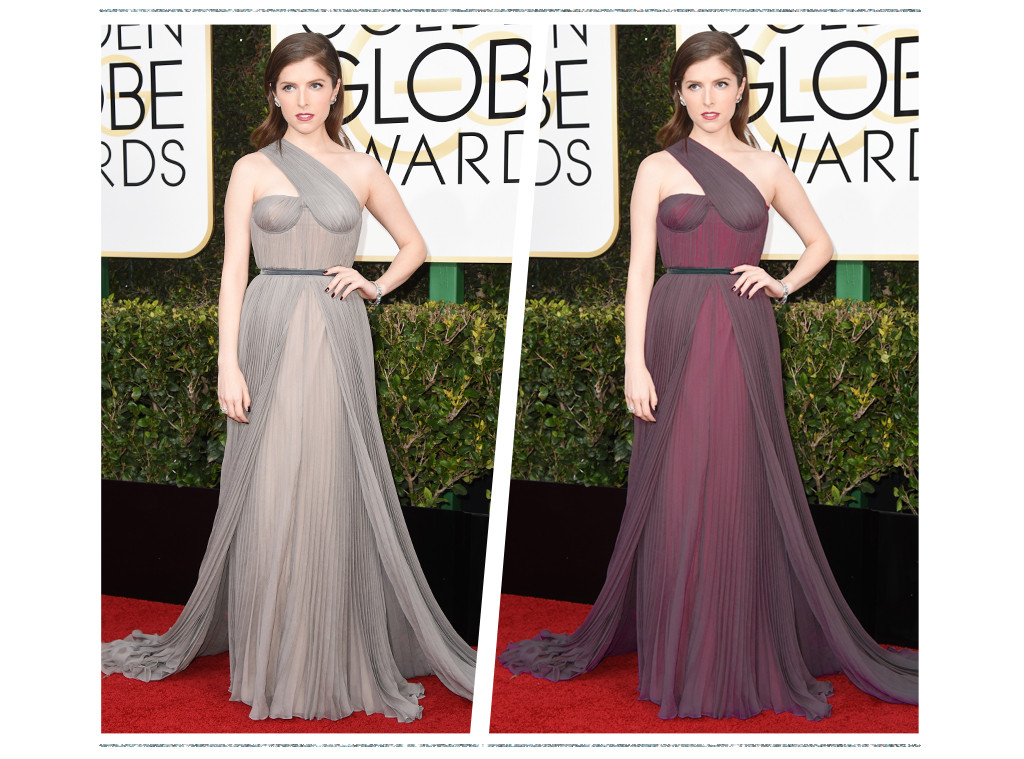 ESC: Golden Globe Color Swap, Anna Kendrick