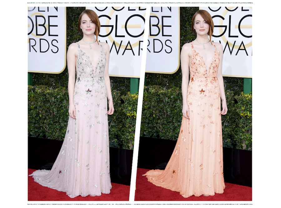 ESC: Golden Globe Color Swap, Emma Stone