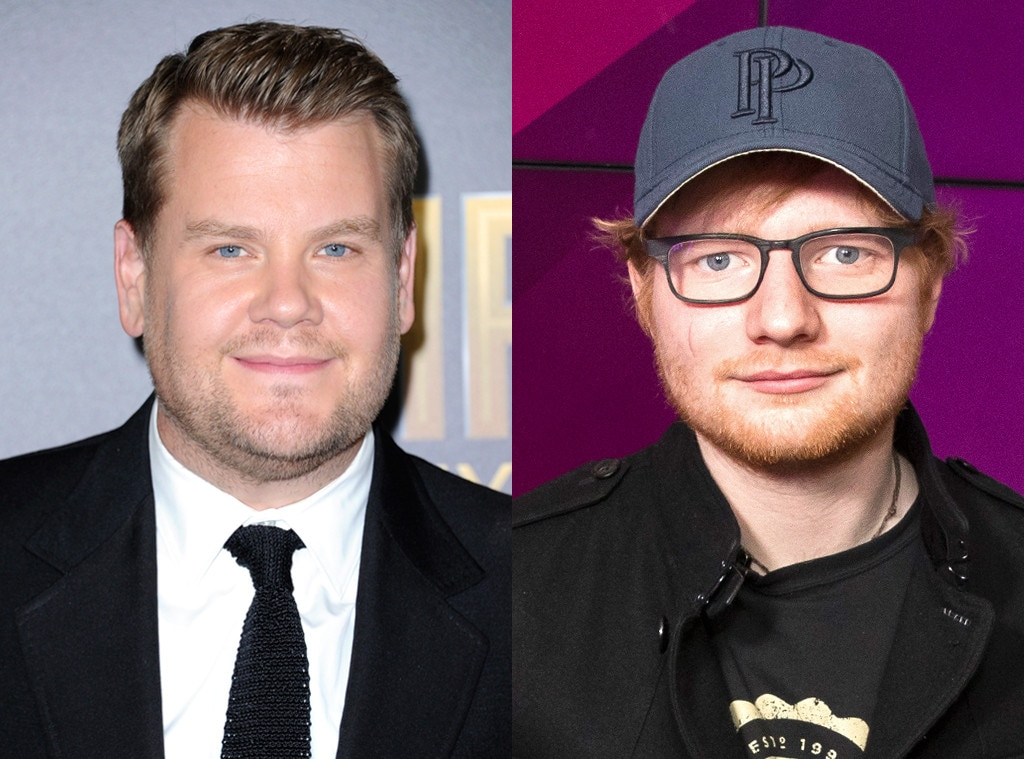James Corden, Ed Sheeran