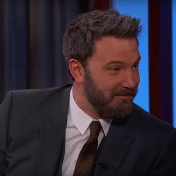 Ben Affleck, Jimmy Kimmel Live