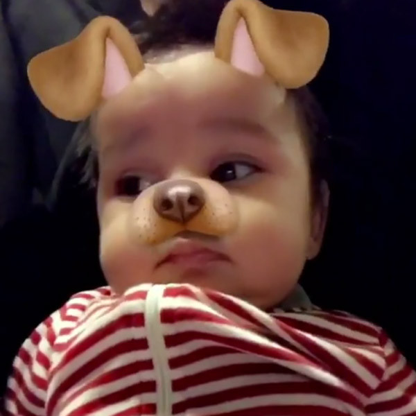 Dream Kardashian, Snapchat