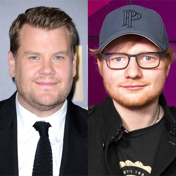 James Corden, Ed Sheeran