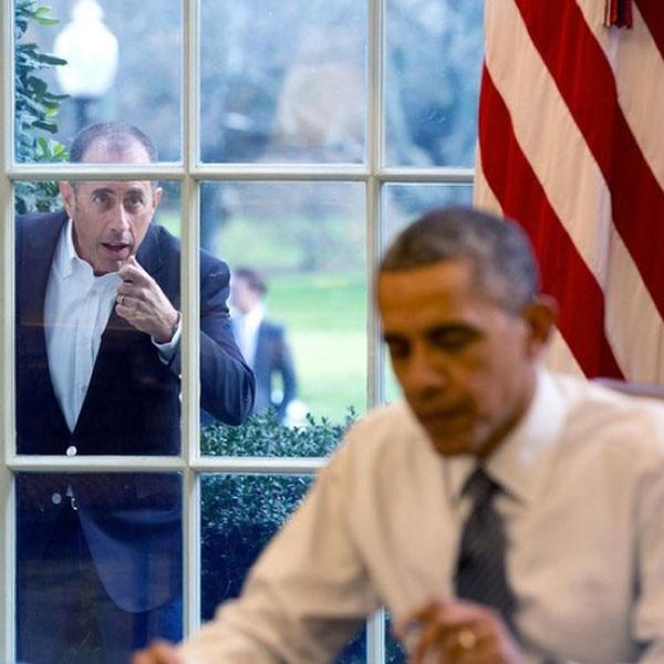 Jerry Seinfeld, Barack Obama