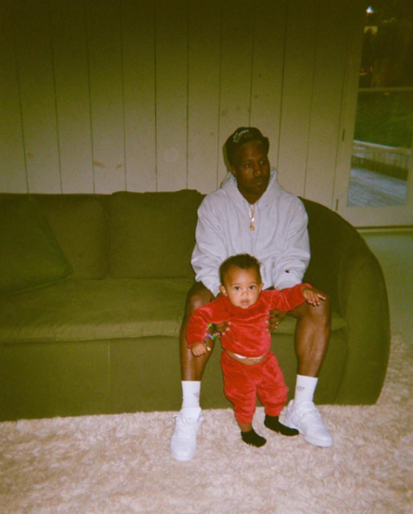 Kim Kardshian, Kanye West, Saint West