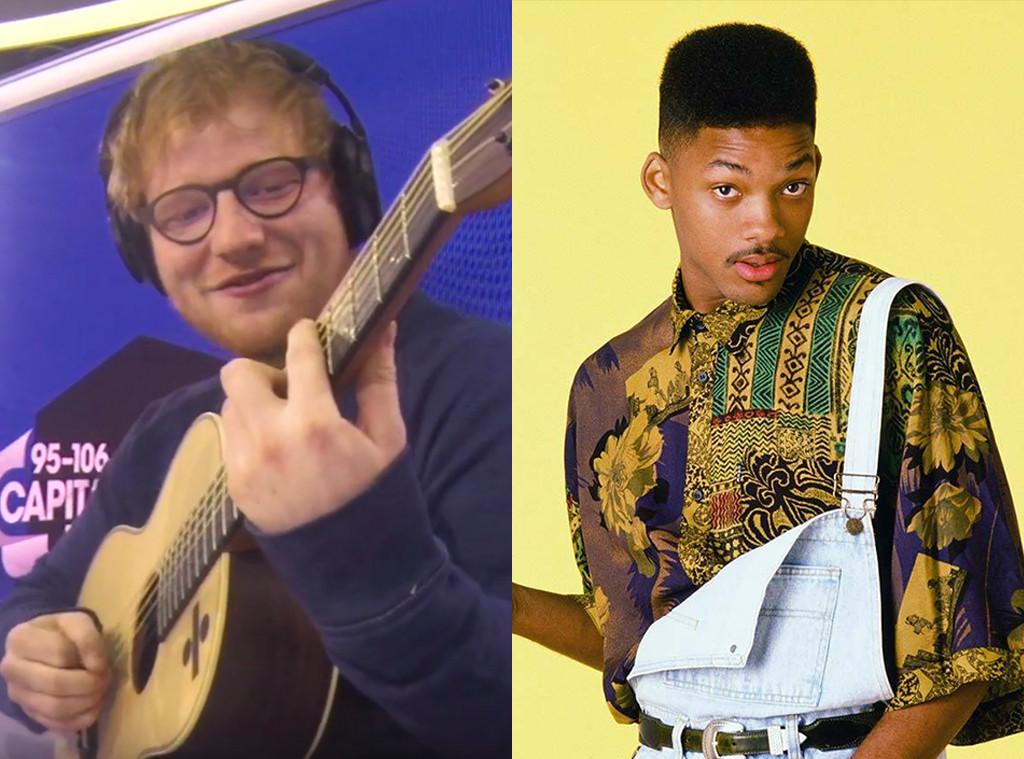 Ed Sheeran, Fresh Prince of Bel Air