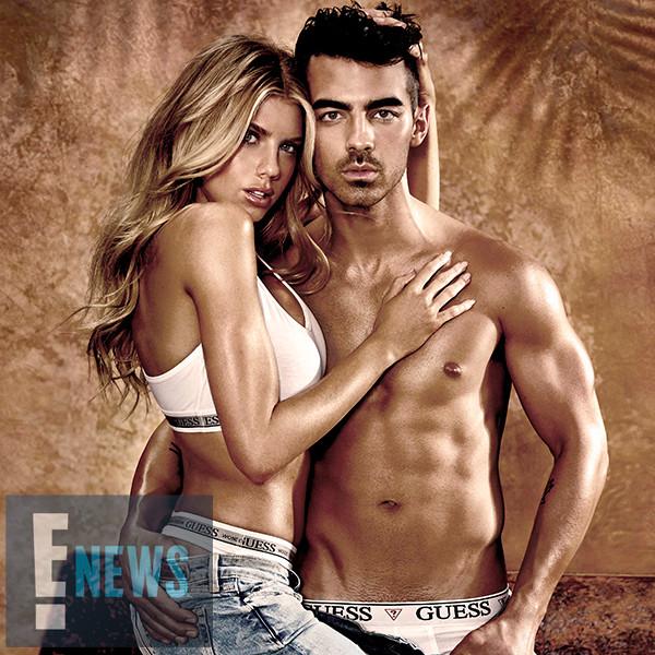 Joe Jonas & Charlotte McKinney's GUESS Underwear Campaign