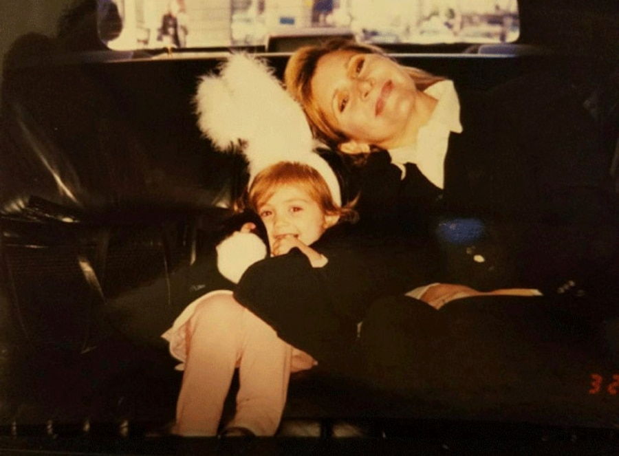 Billie Lourd, Carrie Fisher